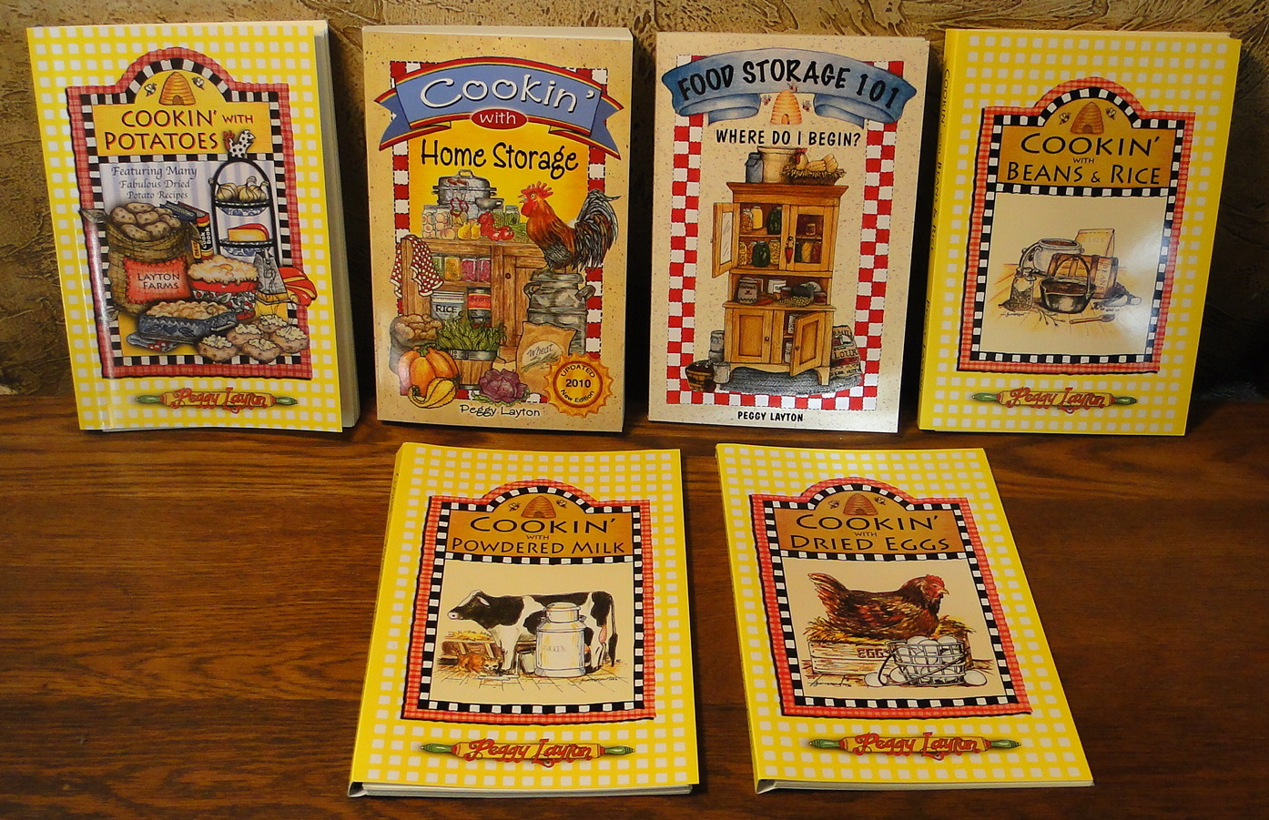 6 Book Special: All books written by Peggy Layton